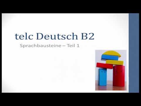 Prüfungsvorbereitung telc Deutsch B2 - Sprachbausteine