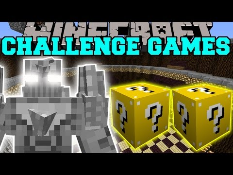 Minecraft: DOOMSDAY CHALLENGE GAMES - Lucky Block Mod - Modded Mini-Game