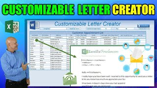 [33.96 MB] How To Create Custom Word Documents From Excel WITHOUT Mail Merge