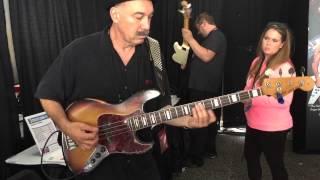 bobby vega using a carol kaye bass pick sweetwater gearfest 2015