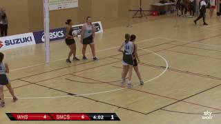Netball | Whanganui High School  v  Samuel Marsden Collegiate School | Sky Sport