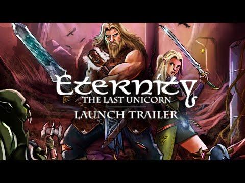 Eternity: The Last Unicorn - Launch Trailer | PC, PS4