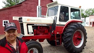 5 Millionth Tractor Made by IHC: 1974 IHC 1066 with 53 Hours in Montana