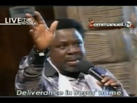 SCOAN 14/12/14: (Part 1/3) Sunday Live Prayer Line With TB ... Emmanuel Tv