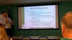 The SBA 504 Refinance and 7a Loan Programs
