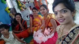 Eshita's Naming Ceremony 2017||Indian baby naming ceremony!!INDIANTWINS MUMMY VLOG2017