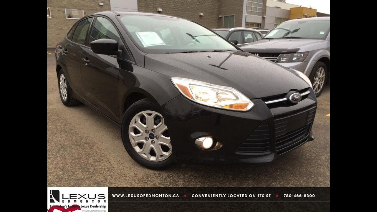 Used Black 2012 Ford Focus Se Review Drayton Valley Alberta