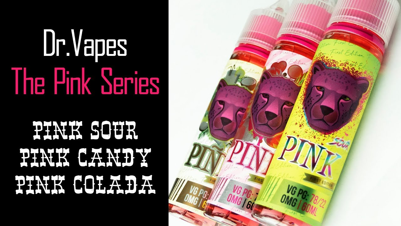 The Pink Series by Dr. Vapes | Preview | Vape.co.uk