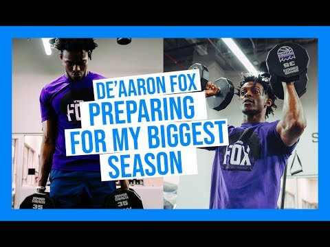 De'Aaron Fox Shows How He Preps For Biggest Season Yet FT. NBA Workout and 1V1 vs The Green Team��