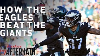 How the Eagles Defense Led them to a Victory Over the Giants | The Aftermath | NFL Network