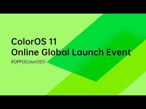OPPO ColorOS 11 Launch