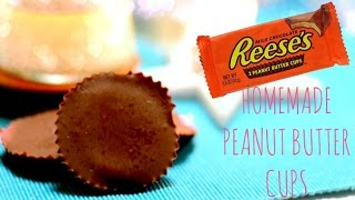 Homemade peanut butter cups EASY! |Johanna Lind