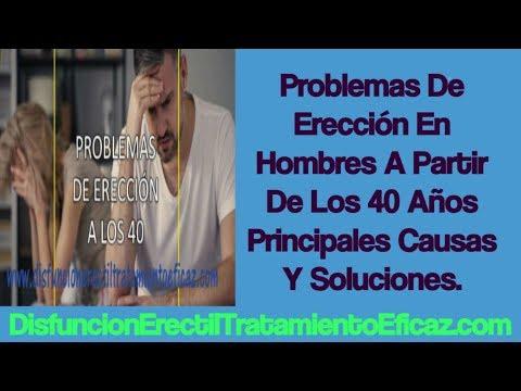 principales causas de problemas de ereccion