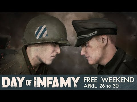 Day of Infamy Free Steam Weekend Trailer (April 26th-30th)