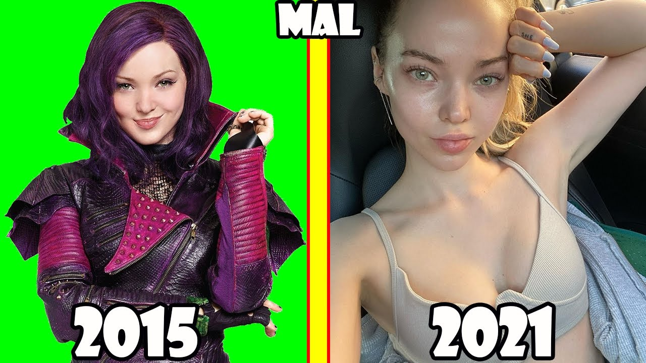 Descendants Before and After 2021 (The Series Movie Descendants 3, 2, 1 Then and Now)
