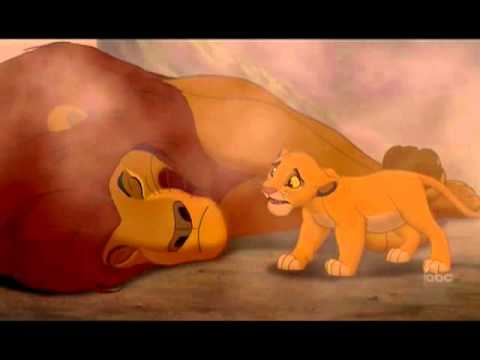 Mufasa Death - The Lion King - Funeral - YouTube