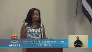 45ª Sessão Ordinária - Câmara Municipal de Araras