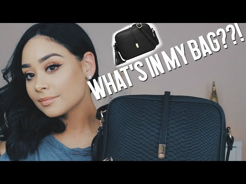 WHAT'S IN MY PURSE | $20 AMAZON BAG!