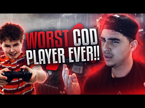 WORST CALL OF DUTY PLAYER EVER!!
