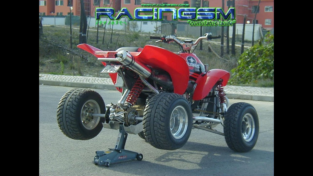 +75hp Polaris Scrambler 400