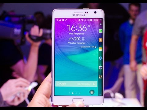 Samsung Galaxy Note Edge launched in Korea