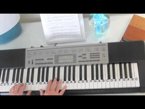 How to Play ~ When I Was Your Man ~ Bruno Mars ~ LetterNotePlayer ©