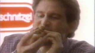 wiener schnitzel hot dogs commercial 1995
