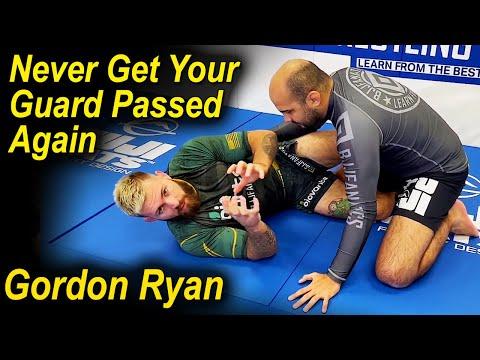 Guard Retention - How To Never Get Your Guard Passed In Jiu Jitsu by Gordon Ryan