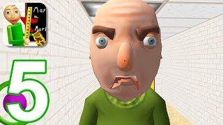 Baldi's Basics in Education - Gameplay Walkthrough Part 5 - New 3D Update (iOS)