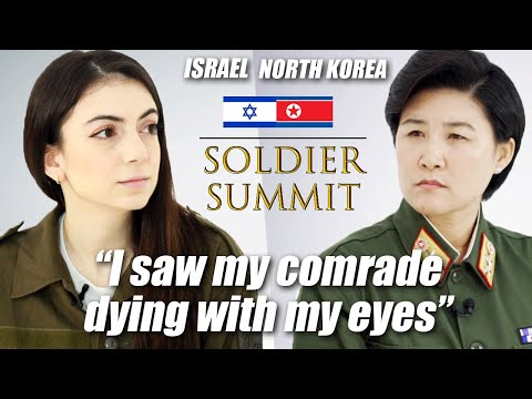 Israeli Soldier Meets North Korean Soldier For The First Time