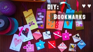 DIY: Bookmarks | My Crafting World