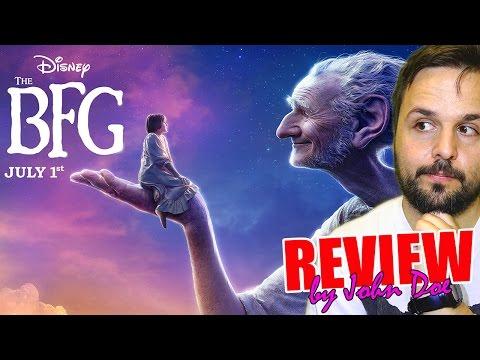 Mi amigo el gigante - CRÍTICA - REVIEW - HD - John Doe - The BFG - El buen amigo gigante