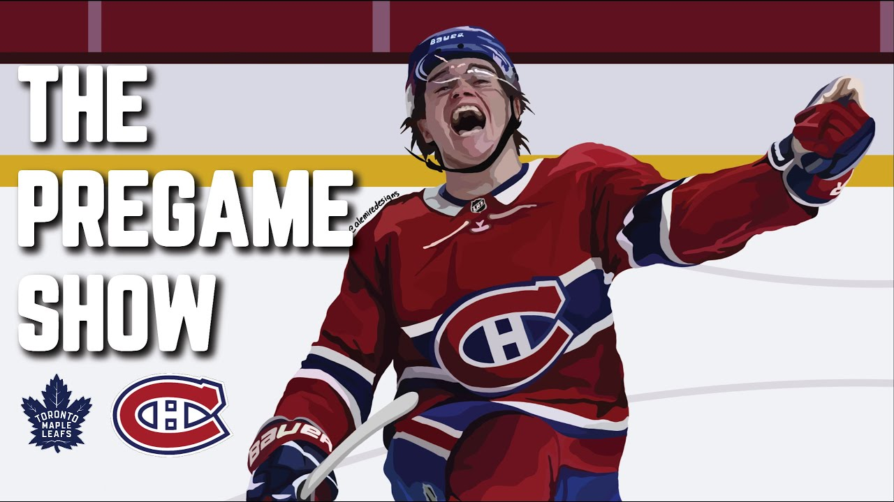 Habs Tonight Pre-Game Show with Annik & Drew | Toronto Maple Leafs @ Montreal Canadiens