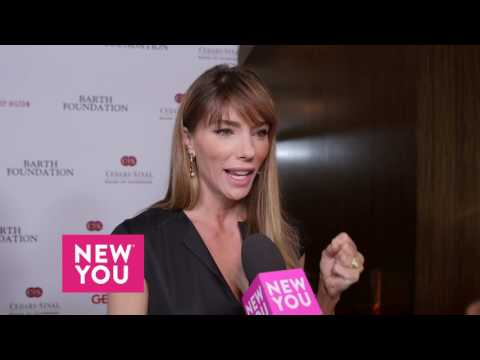 Jennifer Flavin talks to New You about Sylvester Stallone's award at the CedarsSinai Gala