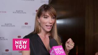 Jennifer Flavin talks to New You about Sylvester Stallone's award at the Cedars-Sinai Gala