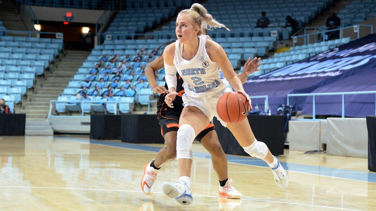 Video: UNC Women's Basketball Falls To Virginia Tech, 66-54 - Highlights
