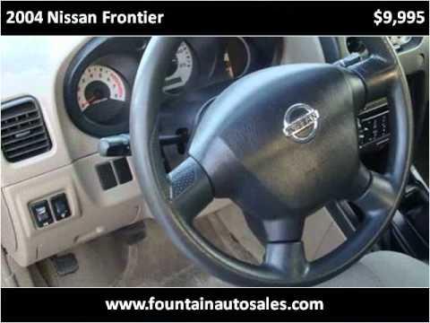 2004 Nissan Frontier Used Cars Ocean Springs MS