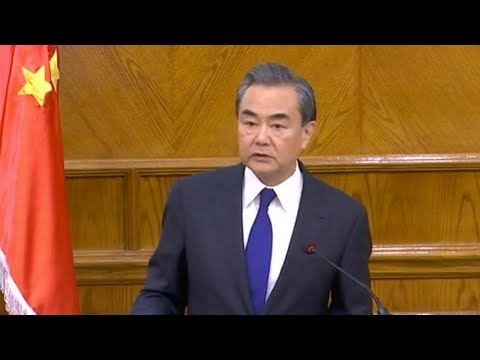 Chinese FM: Middle East crisis 'a danger on the whole world'