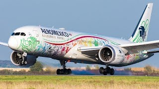 Spotting in Paris CDG with 787 Aeromexico « Quetzalcoatl», 777 Turkish, 777 PIA and more!