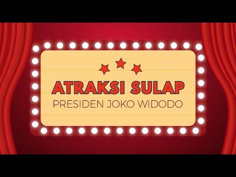 Atraksi Sulap Presiden Joko Widodo