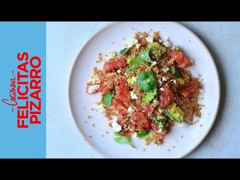 Ensalada de Quinoa | Felicitas Pizarro