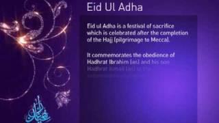 Eid Ul Adha 2009 - A Festival of Sacrifice (English)