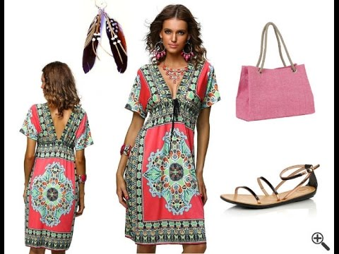 hot sale online 06904 4898f Günstige Strandkleider für große Größen + Strand Outfit Ideen