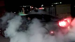 2010 Mustang GT Burnout at The Gas Station