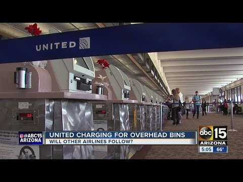 United Airlines Now Charging For Carry-on Bags