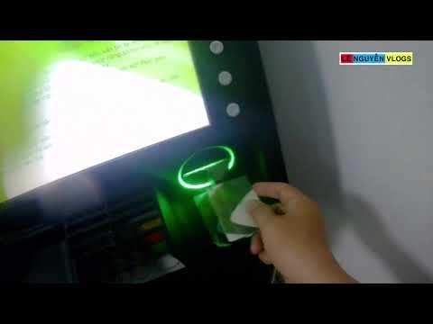 Hướng Dẫn Rút Tiền ATM Cho Bạn Nào Chưa Biết - Lê Nguyễn Vlogs