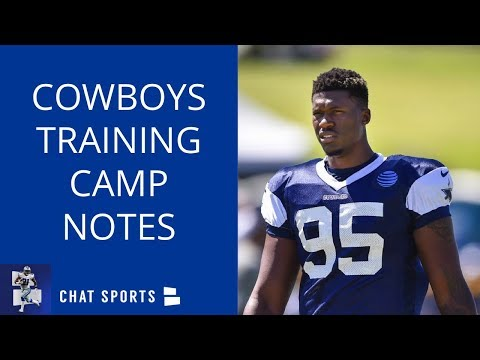 Cowboys Training Camp: David Irving Missing Camp, Jerry Jones Anthem Comments & Kavon Frazier Injury
