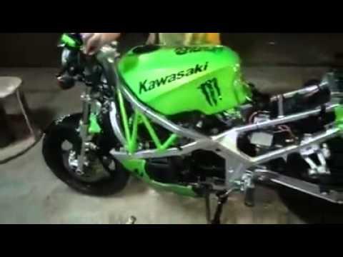 Kawasaki Ninja Gpz 400 Youtube