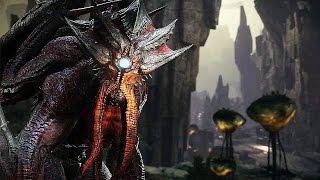 "Evolve Stage 2 PC (ULTRA) - Elder Kraken Gameplay ""Red Cthulhu"""