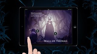 Maleficent: The Official Multi-Touch Book Trailer